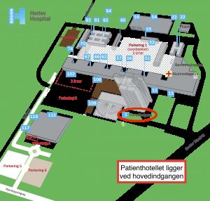 Oversigtskort_Herlev_Hospital