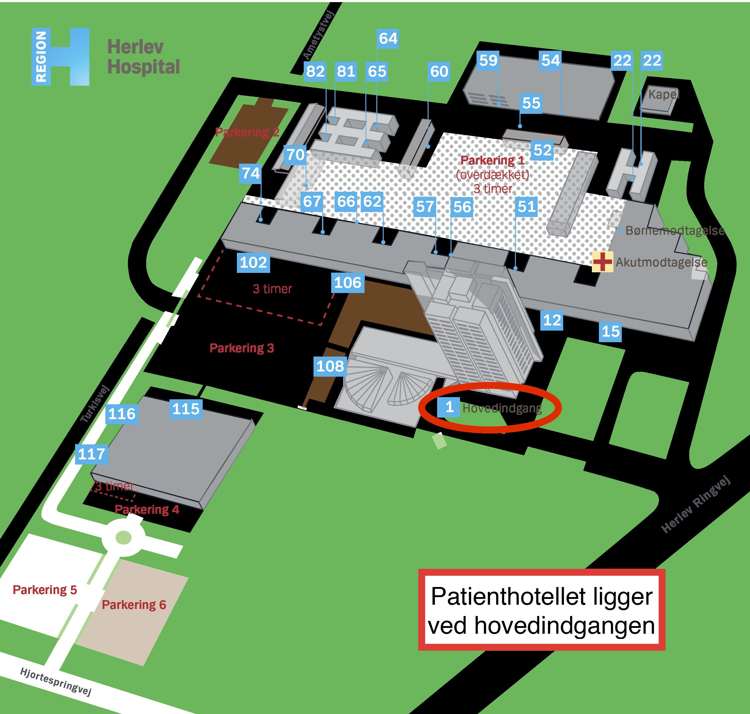 rigshospitalet indgang 85
